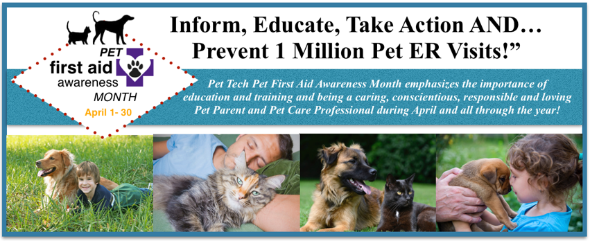 PEt First aid Awareness Month
