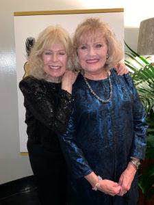 TV Star Loretta Swit with Kathi Welch